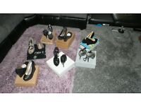 7 PAIRS OF LADY'S SHOES