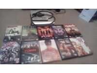 Alba Dvd Player, 10 Films, Scart Lead Free Delivery