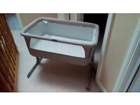 Next to me baby crib fantastic condition hardly used