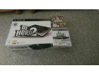 PlayStation 3 dj hero set