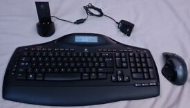 Logitech MX5500 MX Revolution Bluetooth Mouse & keyboard set RRP159