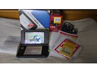 3DS XL(Blue) + 22games + 32 GB SanDisk Ultra + Charger + 1 year warranty