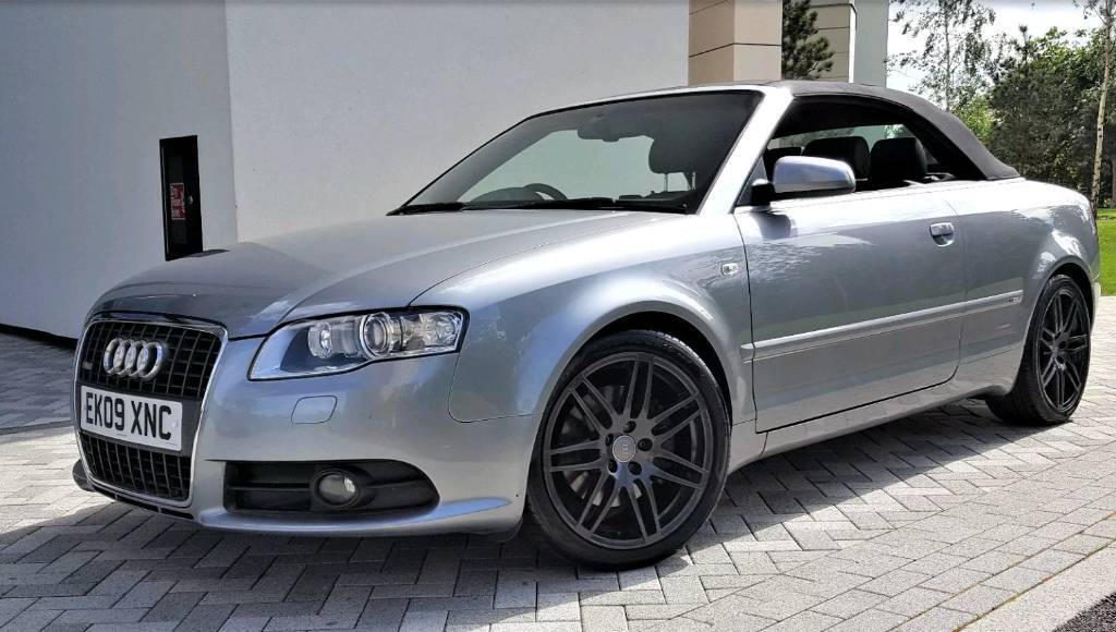 Audi A4 Cabriolet Final edition S line 3 litres diesel Quattro Automatic Full main dealer history
