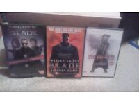 Blade 1,2 & 3 Dvd Movies Free Delivery