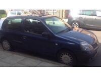 Renault Clio 2003 NO MOT
