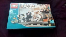 LEGO STAR WARS 10123 CLOUD CITY RELEASED 2003 RARE BRAND NEW SEALED BOX