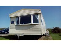 Beautiful family caravan blue dolphin