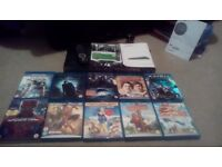 Philips Blu Ray Player/ Dvd Player With 10 Blu Rays