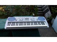 PSR275 keyboard ,stand+ music stand
