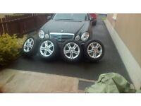 """16"""" Alloy wheels, part worn tyres."""