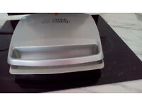 George foreman health grill & Russel hobbs steam iron