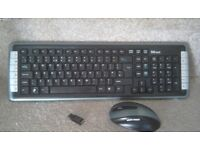 Trust wireless keyboard and mouse etc