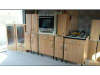 Howdens kitchen units and appliances