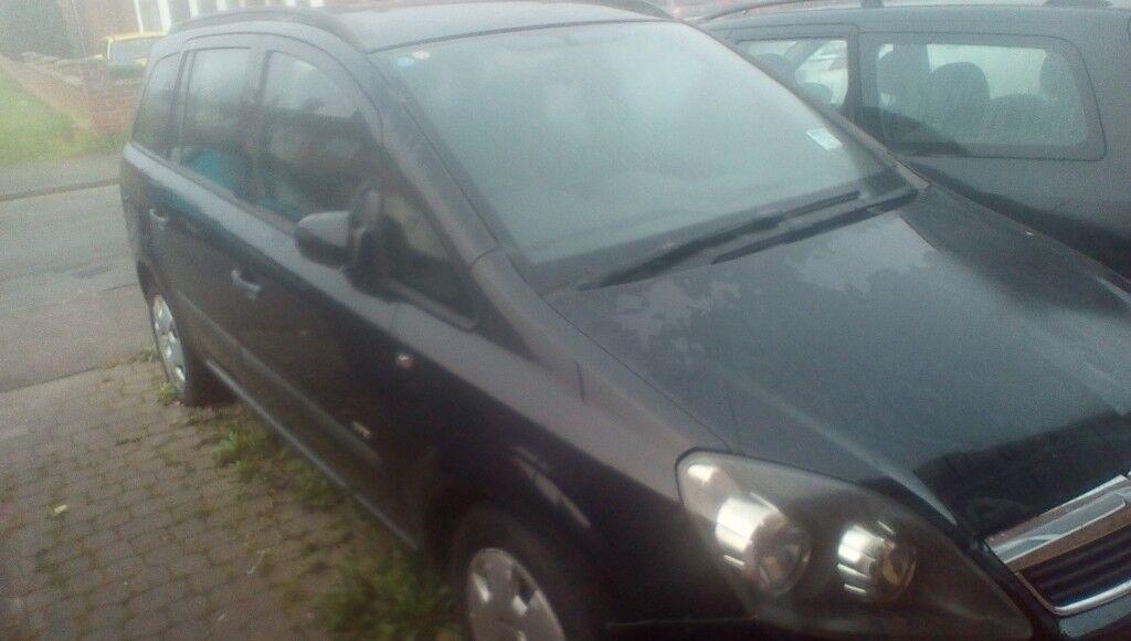 Vauxhall zafira life 2006