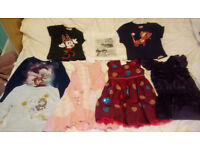 X10 Girls Bundle Clothes 4-7 Years, Dress,Tops,Tshirts (Ted Baker, Next, Zara etc)