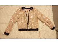 GIRLS TED BAKER clothes (jacket, trousers, jumper) size 6-7 (or 5-6) Years