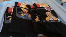 NEW 4 pairs Men's socks uk 6-11