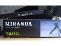 Miranda Table Top Tripod - Boxed