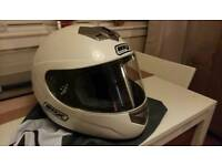 BOX Motorcycle Helmet, Size M.