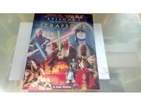 STAR WARS EPISODE I SCRAPBOOK AND MOVIE STORY BOOK NEW SEALED IN CELLOPHANE