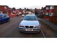 Urgent sale BMW 318i. Low milege. 1 onwer from new