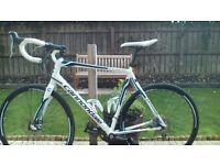 Cannondale Synapse road bike, size 58cm, 10speed Tiagra group set, Disc brakes, twinn bottle cages