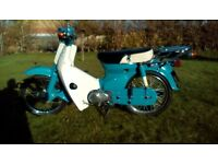 Honda c 70 moped scooter c 50 c 90