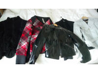 x5 Smart Ladies Jackets/Cardigans Bundle,sz 8,12,M, ZARA, NEXT,TAIFUN,FRASERS, EXC. COND. Nearly NEW