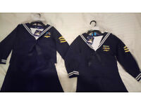 Pilot / Sailor / Captain Uniform 3 Piece Costume (2-3 years and 3-4 years) for Fancy Dress NEW W.TAG