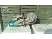 Makita petrol stone cutter