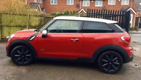 Mini Paceman red 2.0 cooper SD ALL4 3dr 2014
