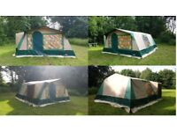 Cabanon Canvas Tent and Camping Equipment