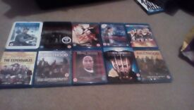 10 Mixed Blu Rays Free Delivery