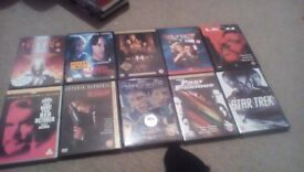 10 Mixed Dvd Film Collection
