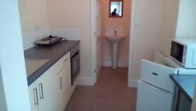 Flat, large bedroom with own kitchen and bathroom all Bills included