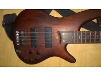 Ibanez Soundgear SR500 Active Bass Guitar BM Bartolini pickups!