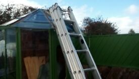 aluminium ladders,made by lyte ladders in wales