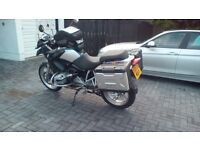Bmw r1200gs, 2005, luggage