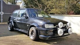 Immaculate Ford Fiesta Mk2 1991 Brand new 2.0 Zetec Engine Fully restored (ignore escort capri )