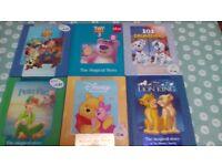 Disney books x 6