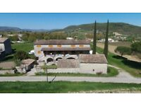 Property owner sells Old stone farmhouse in South of Ardeche (Valvignères- FRANCE)