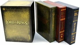 The Lord of the Rings Trilogy Extended Edition 12 DvD Box Set