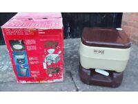 Portable toilet, Bipot 125