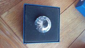 Genuine Swarovski Diamond paperweight
