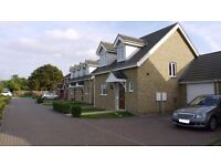 4 bedroomed house with garage, 2 double bedrooms, 1 ensuite shower room and downstairs toilet