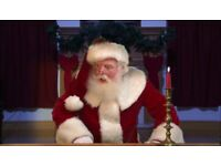 Virtual Santa for wide screen viewing at your party or window projection