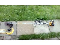 Macculloch supa max 26 petrol bush cutter and garden strimmer