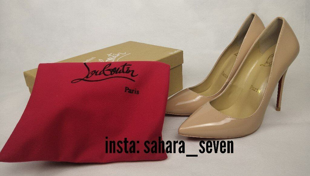 Ladies Shoes Red Sole High Heel Nude Christian Louboutin Heels Lv Louis Vuitton 75 In Hammersmith London Gumtree