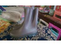Brown Wellies - New Size 10.5-11UK