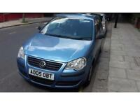 Volkswagen Polo 1.2 2005 Blue